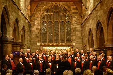 05a. The choir performed for the first time in St Wilfreds Grappenhall 14.03.2020