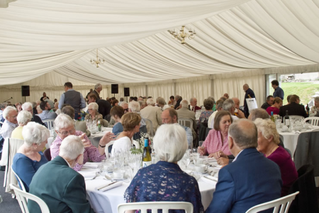 The Marquee at Trevor Hall