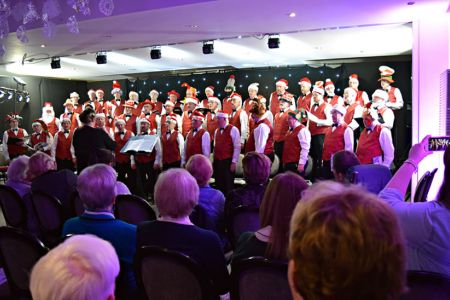 Second Half, Ternhill Hall Hotel Christmas Concert - 2nd December.