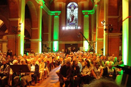 35. A Full House at the Concert at St Jude on the Hill, Hampstead Garden Suburb