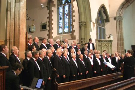 41.Concert for Marie Curie Cancer Care at St Mary's Church Welshpool