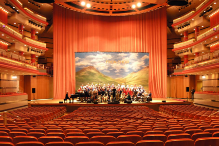 at the Birmingham Symphony Hall