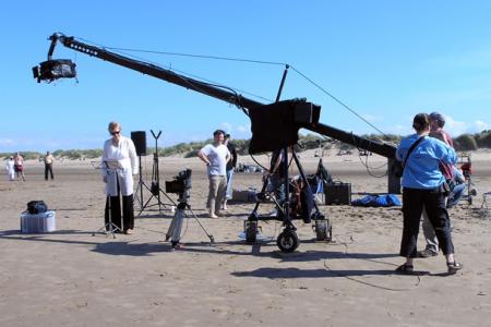 The Film Crew at work