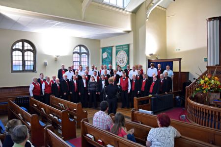 74.Practice at the Hamilton Street Methodist Church, Hoole - 17th September