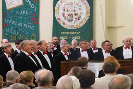 02.Concert in the Hamilton Street Methodist Church, Hoole, Chester - 24th January