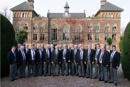 63.The Choir at Soughton Hall, Sychdyn near Mold, for the All Wales Special Constabulary Awards - 18th November