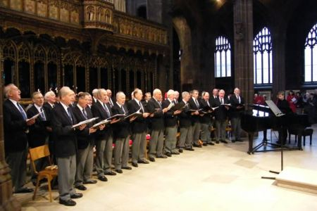 71.Lunch time Concert in aid of Help the Aged in Manchester Cathedral - 13th December