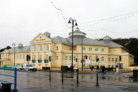 Villa Marina in Douglas, the venue for the Isle of Man Festival of Choirs
