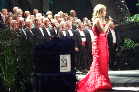 World in Union from the Voices of the Valley CD with Katherine Jenkins as the guest soloist.