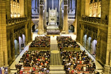 07.St David's Day Concert in Liverpool's Anglican Cathedral for Age UK Wirral - 3rd March