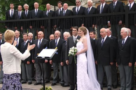 29.Wedding of Rachel Fawcett and Raphael Berkson - 12th of June at Plas Isaf, Corwen.