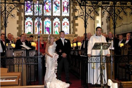 34.The Wedding of Elizabeth Jones to Ashley Wilson, St Collen Church Llangollen 14th July