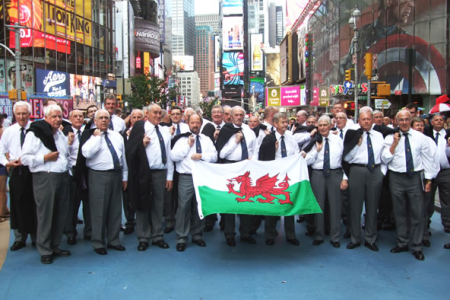 The Choir at Times Square - 23rd August.