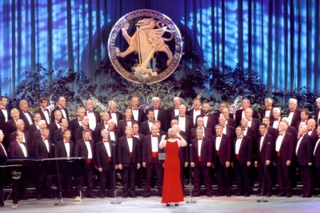02.Male Voice Choir Competition at the Llangollen International Eisteddfod