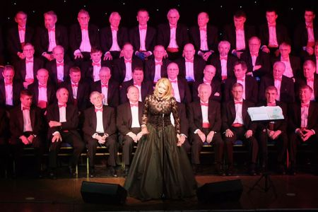 05.Kathryn Rudge - mezzo-soprano soloist at the Wrexham FC Supporters Trust Concert - 25th February