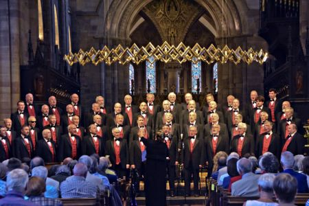 First half of the Hereford Cathedral concert - 24th June