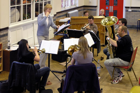 Bandcall with Fine Arts Brass - 3rd April