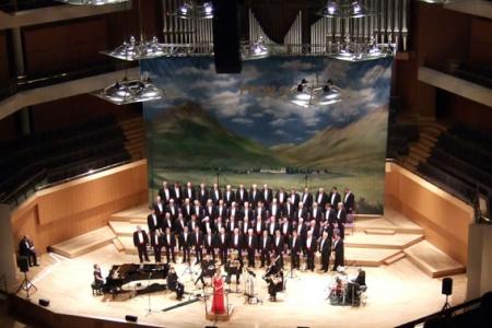 The Bridgewater Hall Stage