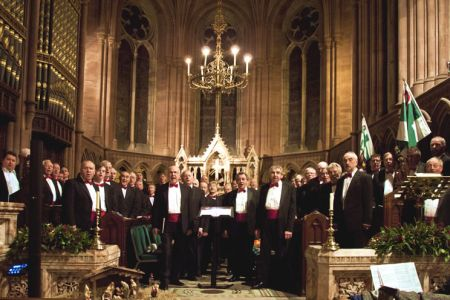 73.Christmas Concert for Nightingale House Hospice in Eaton Hall Chapel - 20th December