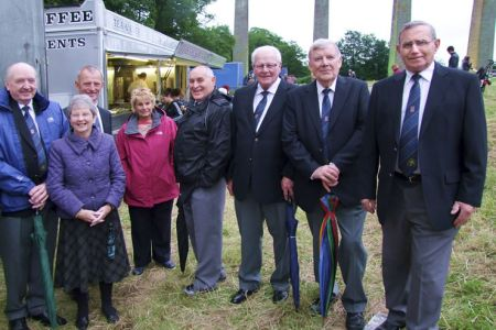 43.Glyn and Anne, Tudor and Elaine, Dave, Bob, Tom and Barry at Pontcysyllte for the  celebrations to launch the Canal and River Trust