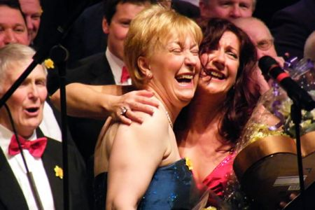 10.Ann and Shân Cothi. St David's Day Concert in the William Aston Hall, Wrexham - 1st March