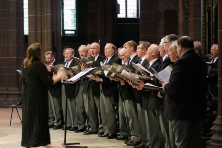 99b.A Star for Christmas Concert in Manchester Cathedral - 6th December