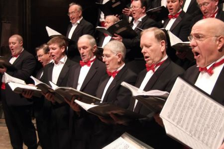 62.Tenors at the Chester Cathedral Concert in aid of Nightingale House, 14th December.