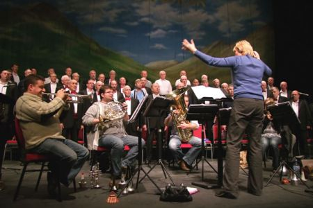 59.Practice for the Voices of the Valley - Winter Spectacular Concert in Llandudno - 27th November.
