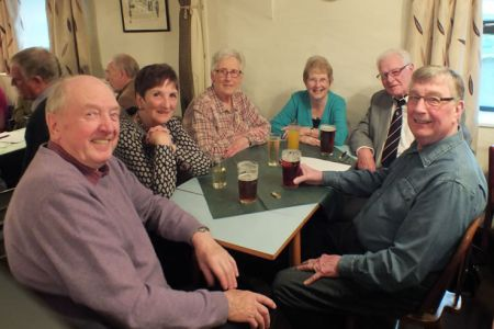 22.Social Evening in the Cross Keys at Selattyn, Shropshire.