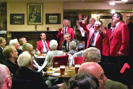 30.Afterglow with Haydock MVC following the Annual Celebrity Concert in St Helens