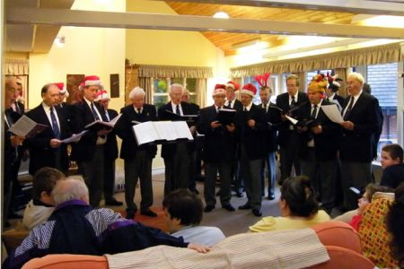 73.Concert of Carols for the residents of Hope House Childrens Hospice near Oswestry