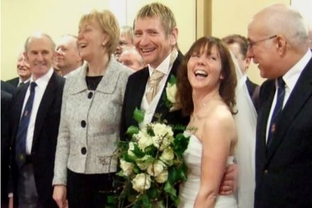 03.Kevin and Suvi's Wedding at the Lake Vyrnwy Hotel on the 31st of January