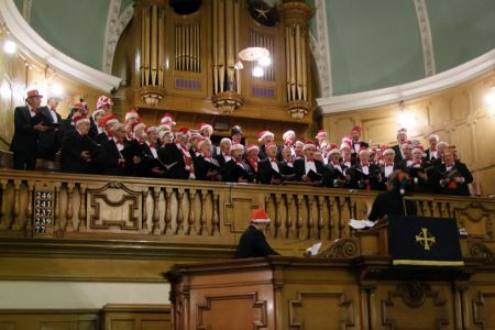 72.The Finale to the Christmas Concert in the Darlington Street Methodist Church Wolverhampton - 8th December