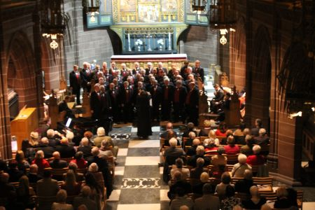 55.Onstage at Liverpool Anglican Cathedral Ladies Chapel
