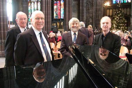 65.Dai Davies, Martin Futcher, Fraser Henebury and Owen Roberts