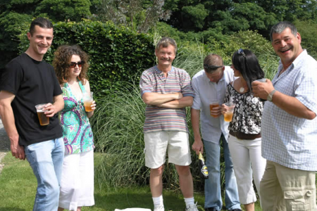 What a wonderful day for a Garden Party