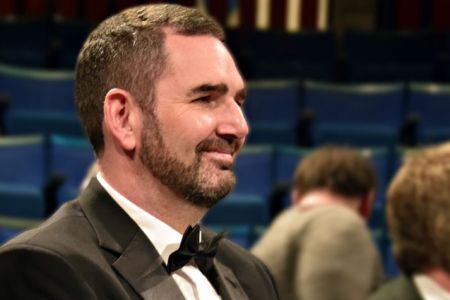 96.Darren Barker joins the Choir as a full member - New Vic Theatre - 17th December