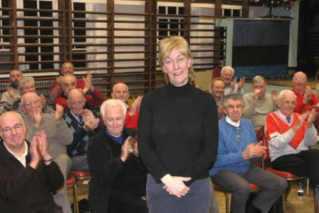 70.Ann at her last practice with the Choir as Musical Director