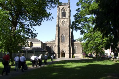 31.Arriving on a glorious evening at St Emmanuel's Church in Loughborough for a concert for Loughborough University Arts - 22nd May