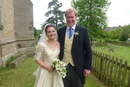 11c. The Happy Couple Thomas and Harriet congratulations to you both on your special day