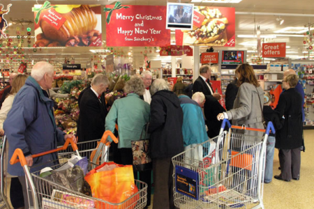 Instore Encore Promotion and cover signing Wrexham Sainsbury Supermarket 1st December