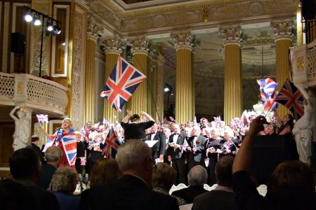 59.Last Night of the Proms performance in St George's Hall Liverpool, at the Royal British Legion The Somme & Beyond concert - 1st July