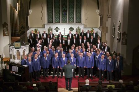 58.Concert at St Patrick's Church Dalkey, County Dublin, with the Dublin Welsh Male Voice Choir - 4th November