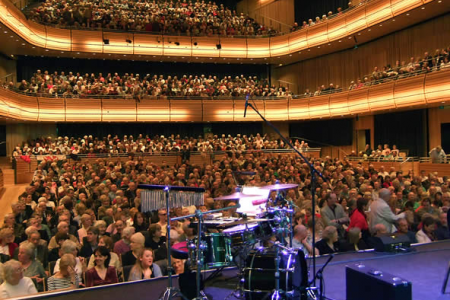 Sell Out Audience at the Sage