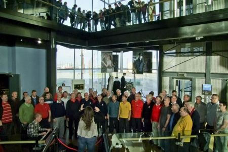 56.Mini Concert at the Belfast Titanic Experience - 3rd November