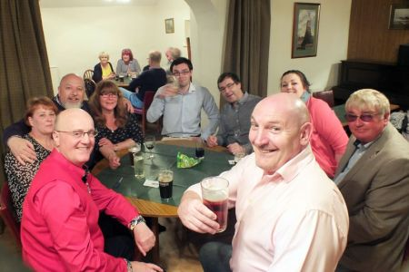 21.Social Evening in the Cross Keys at Selattyn, Shropshire.