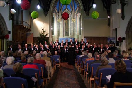 99d.Christmas Concert in Holy Trinity Church Oswestry with the Porthywaen Band - 11th December