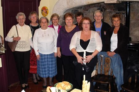 07.The Ladies Committee organisers of the Cheese and Wine Evening held on the 11th of November at Trevor Hall