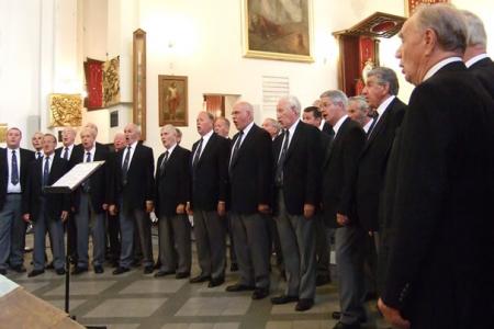 Concert in the Matki Boskiej Zwycieskiej church.