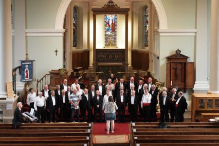 62.Practice in St Mary's Church Bridgnorth for the Mayor's Charity Concert - 13th September